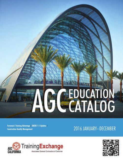2016 Education & Training Catalog
