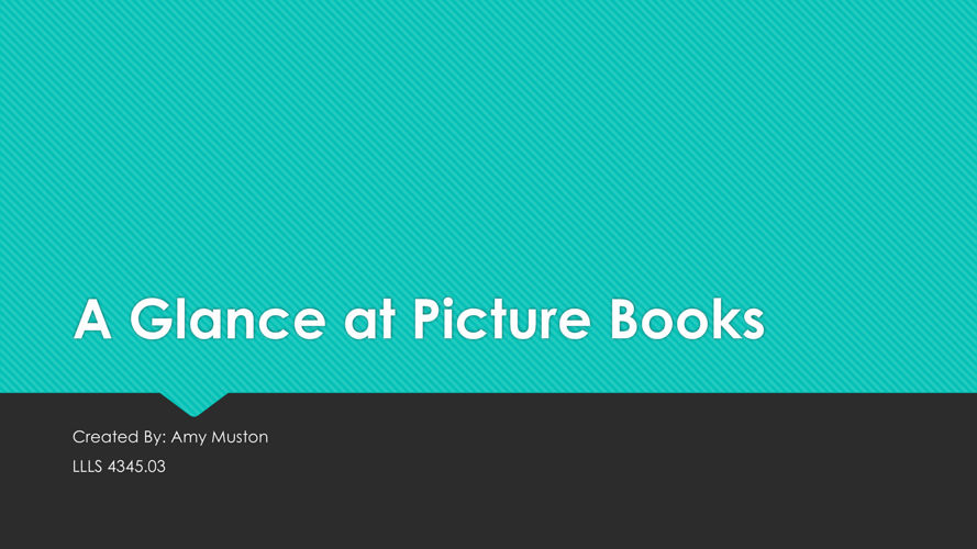 A Glance At Picture Books