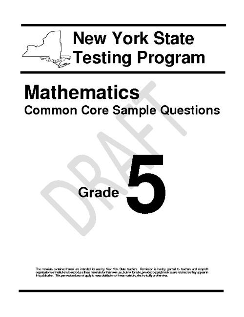 Common Core Grade 5