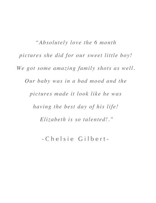 Elizabeth Wiggs Portrait Welcome Guide