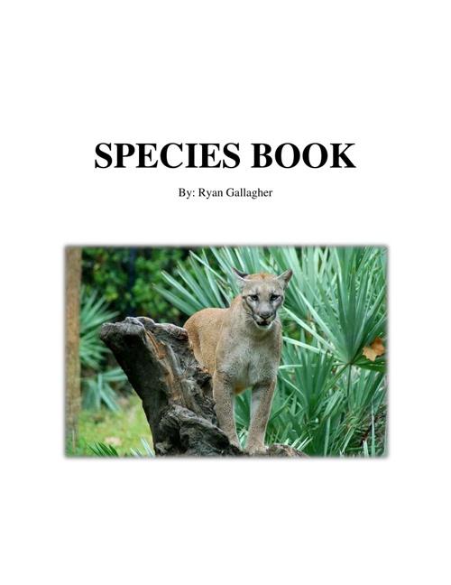 Species Book