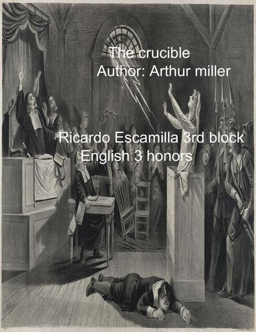 The Crucible Flip Book - Ricardo Escamilla