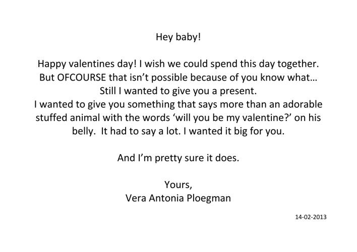 To Aaron