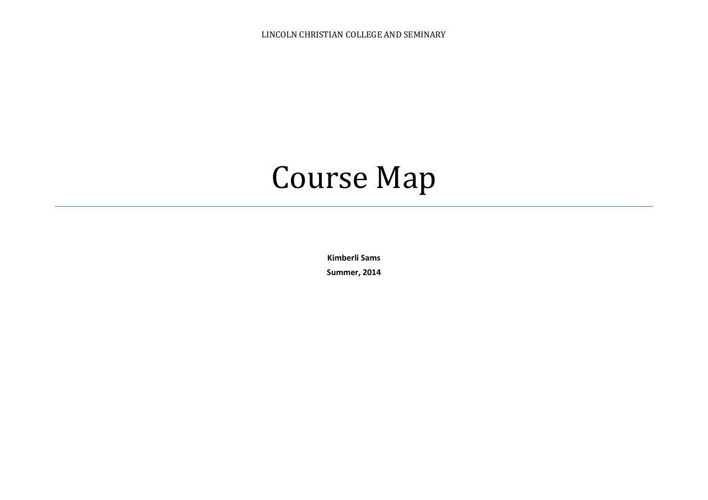 Copy of My Course Map