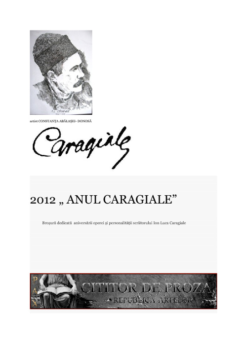 """2012 """" ANUL CARAGIALE"""""""