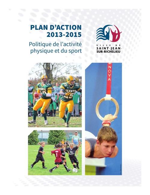 Plan d'action de la politique du sports 2013-1015