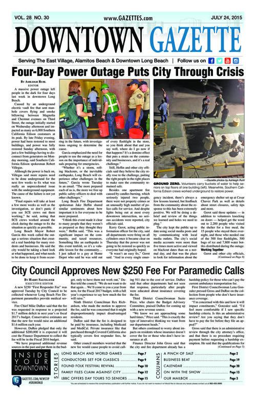 Downtown Gazette  |  July 24, 2015