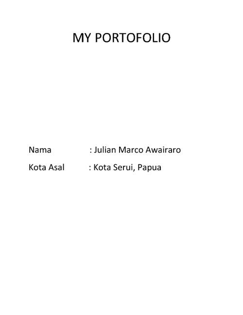 My Portofolio