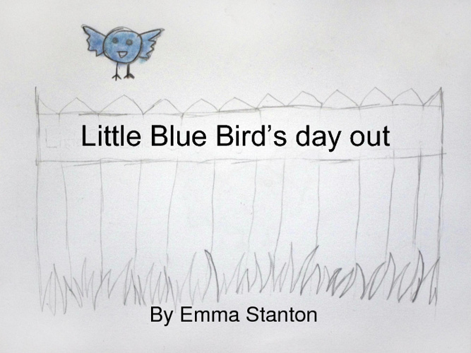 Little Blue Bird's day out
