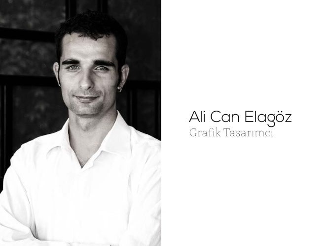 Ali Can Elagöz / Grafik Tasarımcı