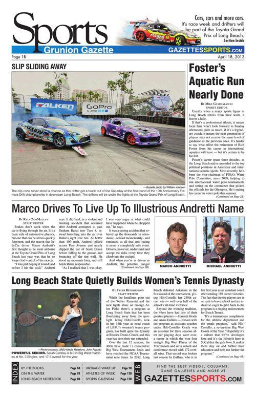 Gazette Sports | April 18, 2013