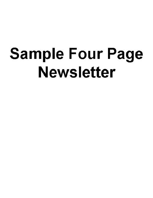 Newsletter-Rockstone