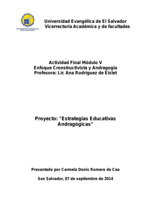 Evaluación Final V