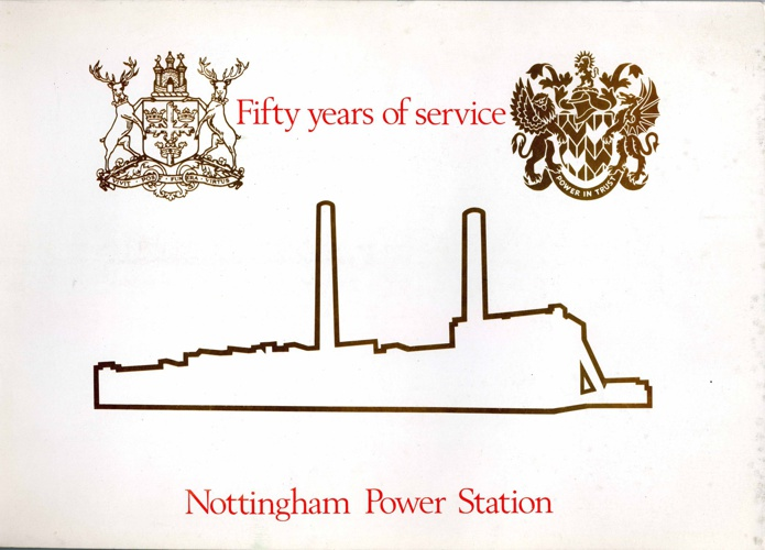 Nottingham Power Station: 50 years of service