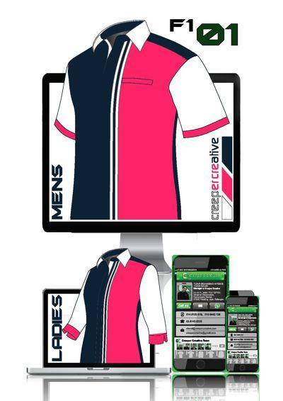Catalog Pattern Design F1 Shirt Lady Cutting