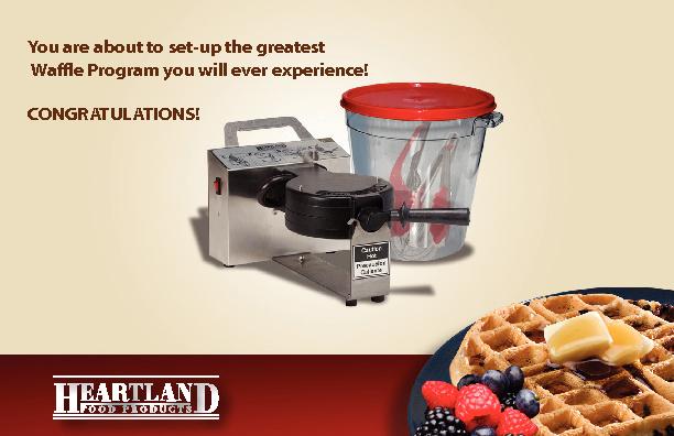 Heartland Manual/Waffle-Sample Booklet
