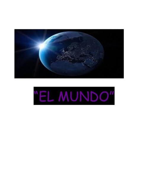 Revista El mundo