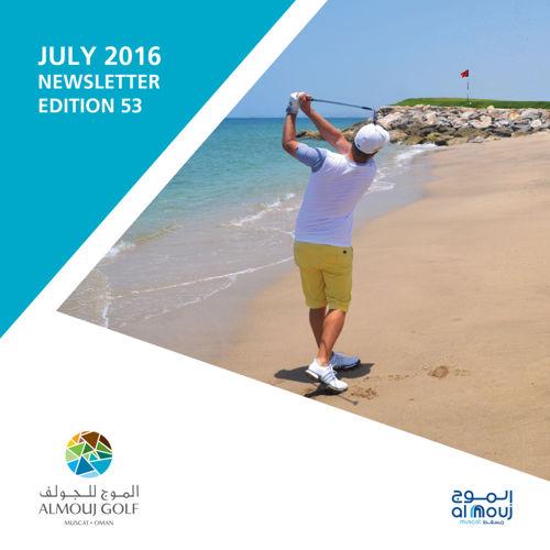 Almouj Golf July 2016 Newsletter