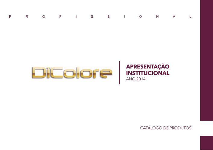 Catálogo Institucional DICOLORE