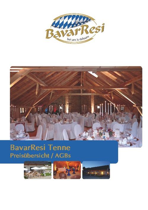 BavarResi Menü-Preis-Genuss-Katalog