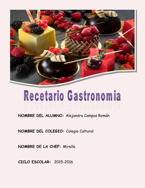 recetario gastronomia 3