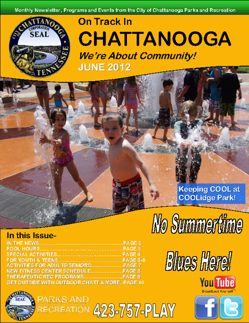 June's Addition of On Track Chattanooga! Events and more!