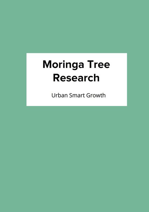 Moringa Tree Research by Urban Smart Growth