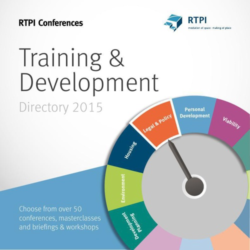 RTPI Conferences Training and Development Directory 2015