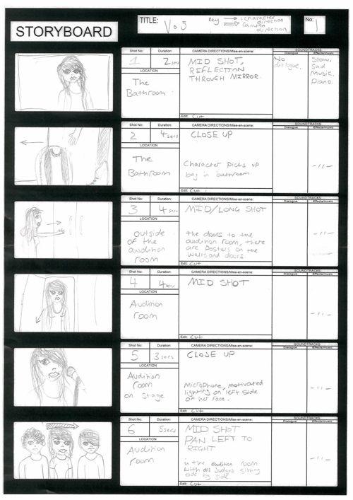 Storyboard VO5