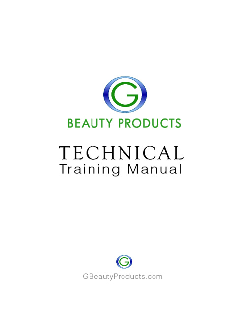 Copy of G BEAUTY PRODUCTS