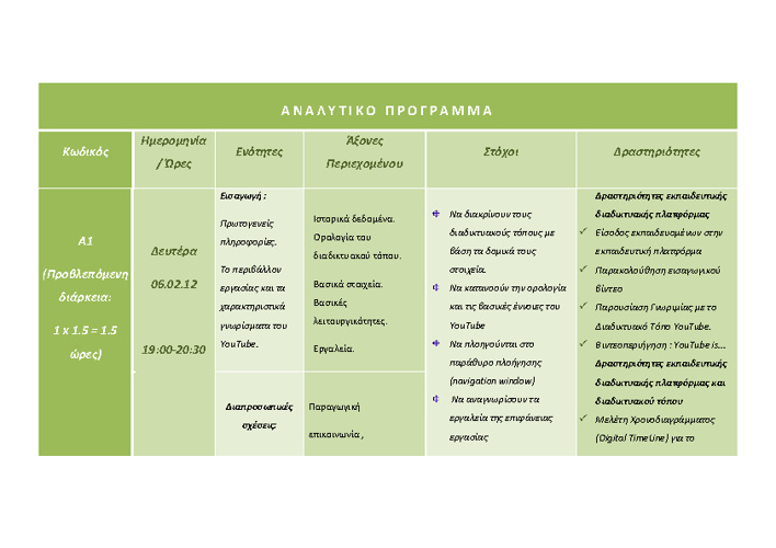 Detailed Seminar Program