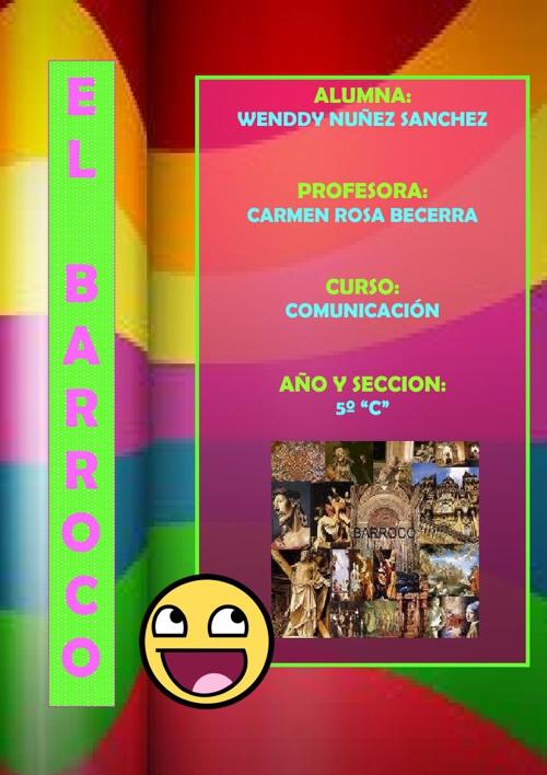 COMUNICACION: EL BARROCO