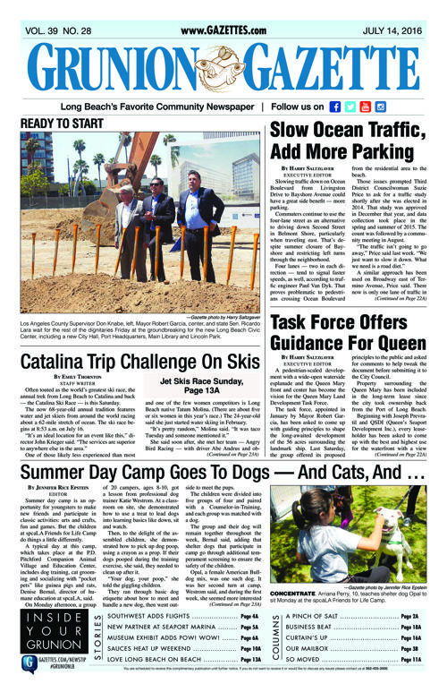 Grunion Gazette | July 14, 2016