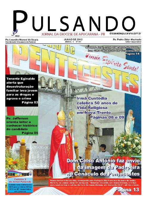 Jornal Pulsando Junho de 2012