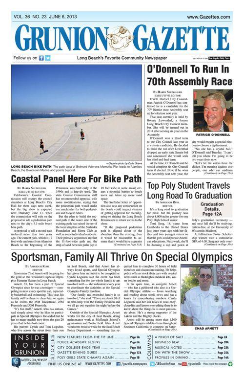 Grunion Gazette | June 6, 2013