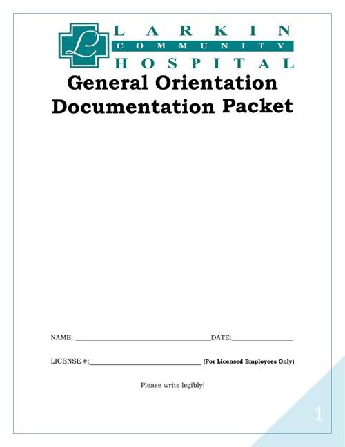 General Orientation Documentation