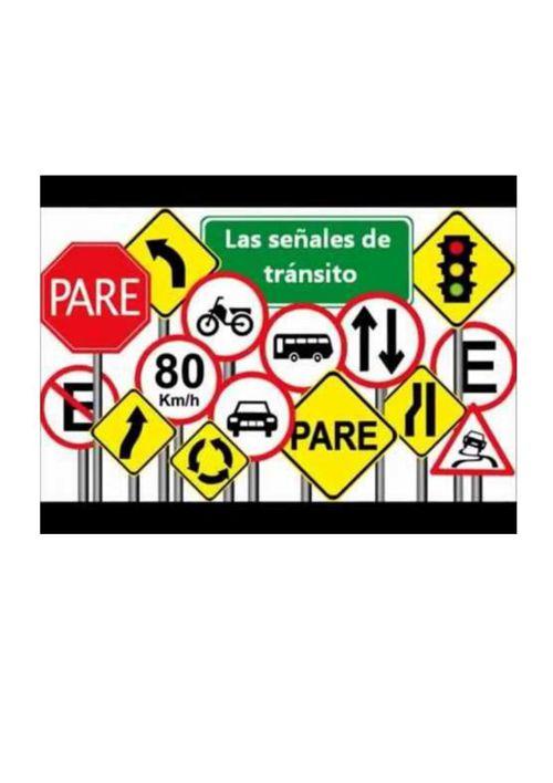 Las señales de tránsito