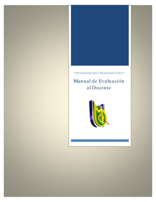 Manual - Encuesta de Evaluación al Docente