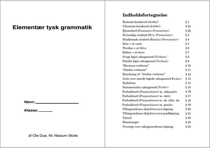 Grammatikbog by Lise Andersen - Flipsnack