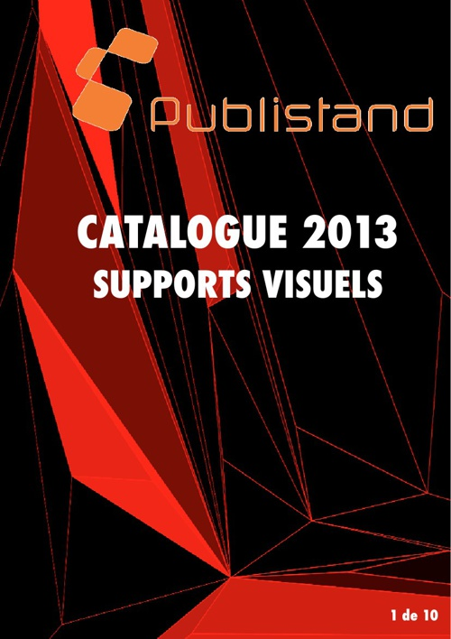 Catalogue Publi supports visuels