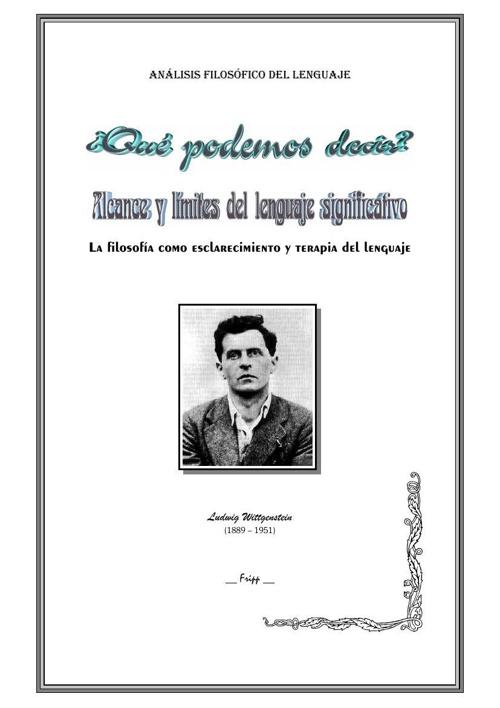 12_Wittgenstein en español - FRIPP