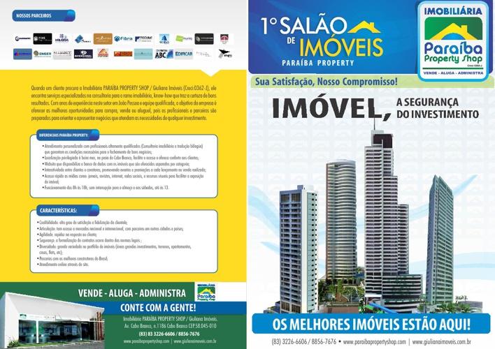 Copy of 1º Salão de Imóveis - Paraíba Property