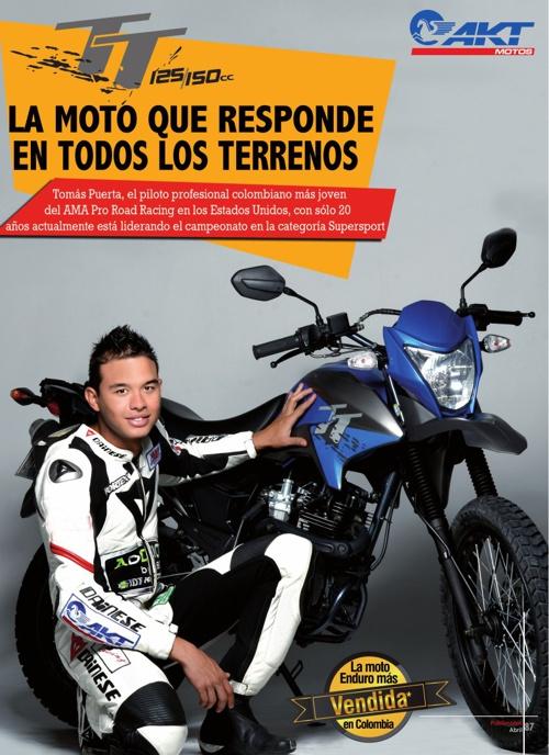 AKT TT La moto que responde en todos los terrenos