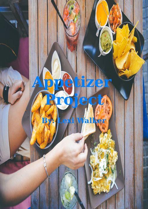 Lexi's Appetizer Book