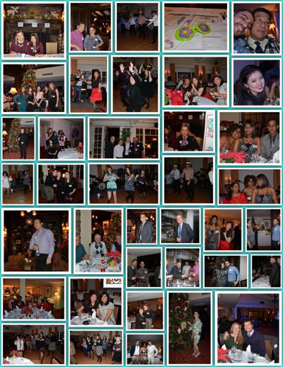 """""""Disco Flashback"""" Staff Holiday Party, December 23, 2015"""