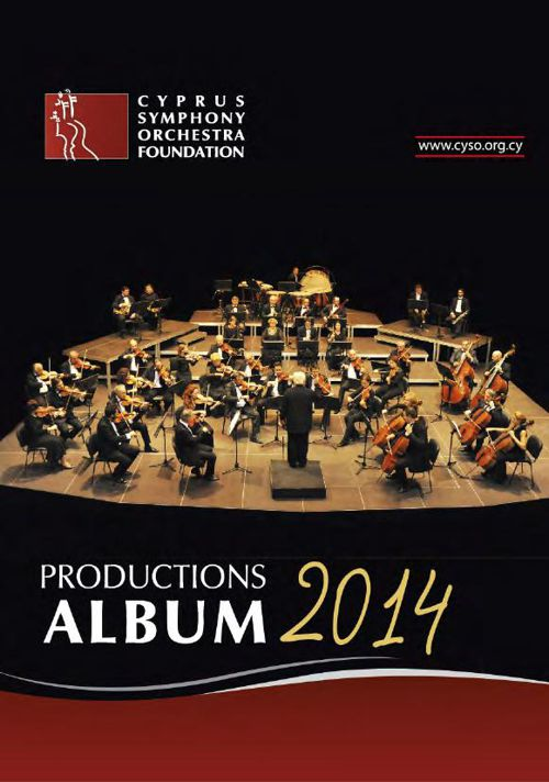 Productions Album 2014 by Cyprus Symphony Orchestra Foundation
