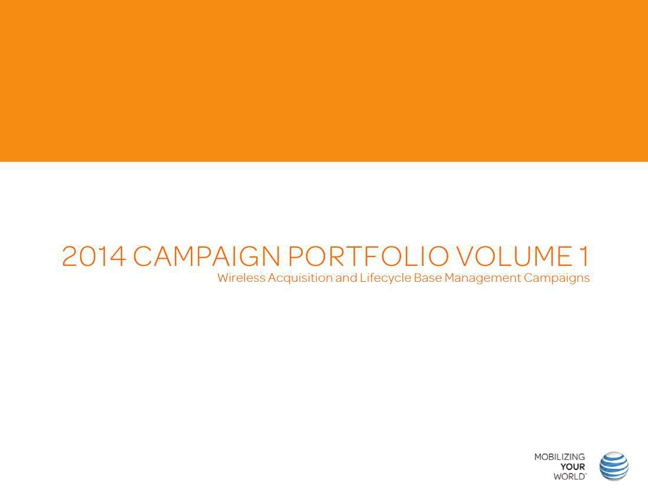 OLD 2014 Mobility Acquisition and LBM Campaign Portfolio-Volume1