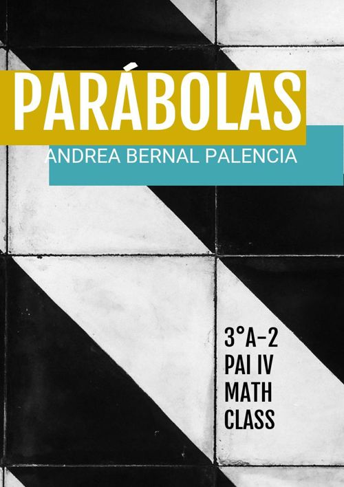 Summative Assessment Parabolas andreabp