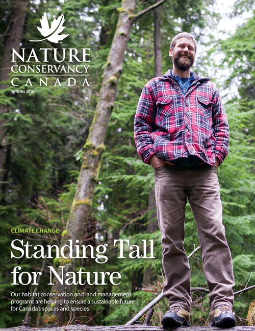 Nature Conservancy of Canada Mgaazine - spring 2016