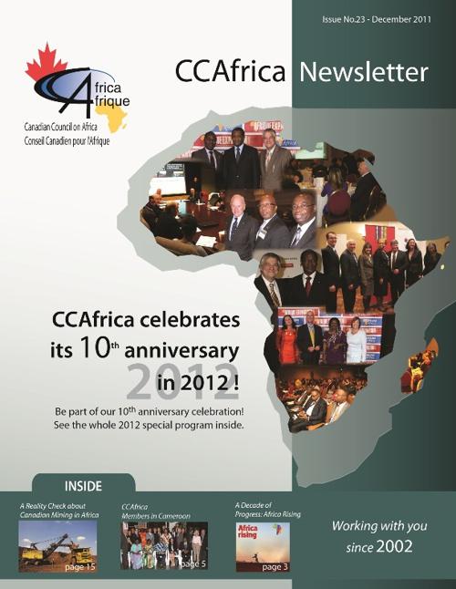 CCAfrica Newsletter Stand/ Kiosque à Journaux CCAfrique